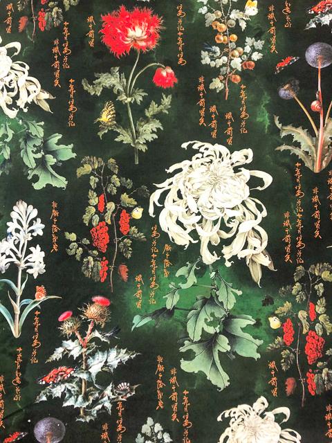 Bambus Asiatische Weißdistel 1