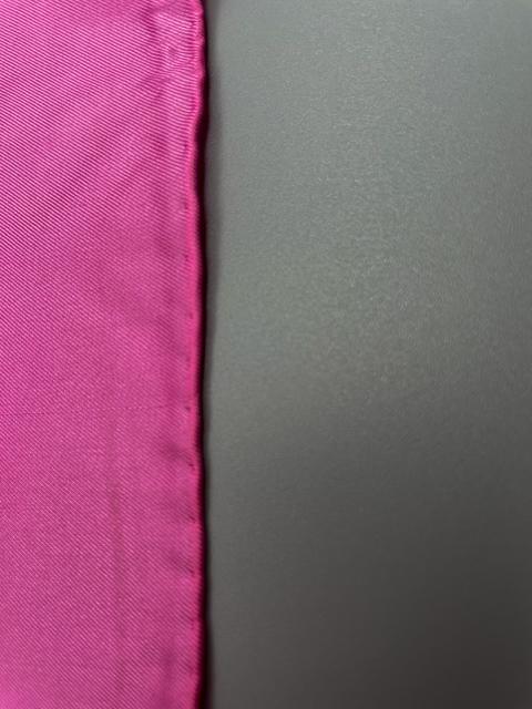 Einstecktuch Handgerollter Rand PINK 2