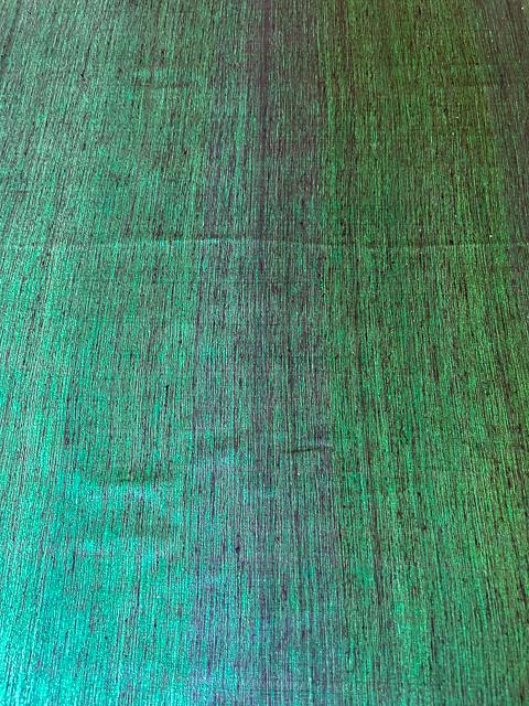Dupion Green-Violett 3