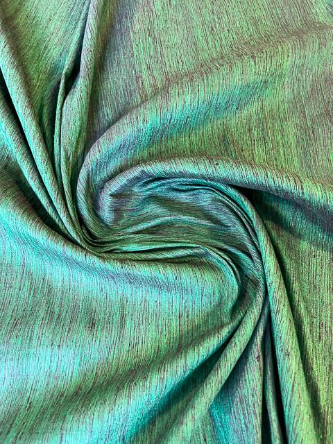 Dupion Green-Violett 1